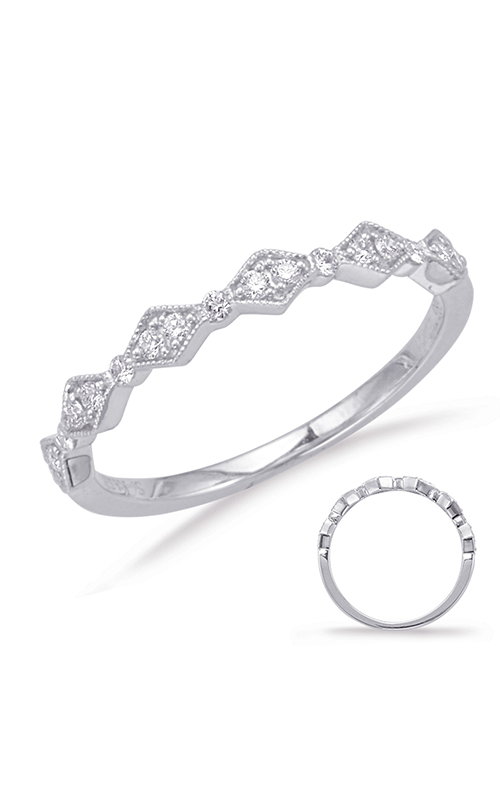 S Kashi & Sons Stackables Wedding band EN8031-BWG product image