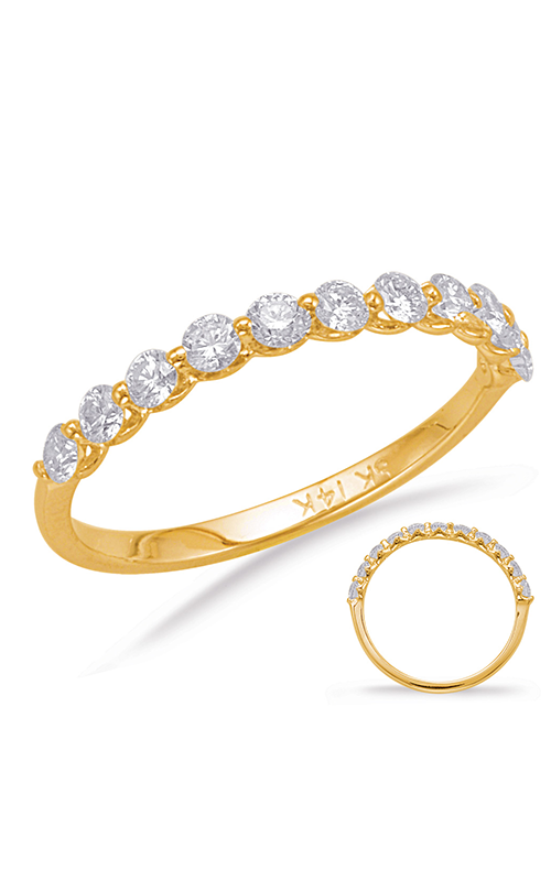S Kashi & Sons Prong Set Wedding band EN7966-BYG product image