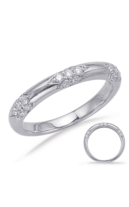 Deutsch & Deutsch Bridal Stackables Wedding band EN8052-BWG product image