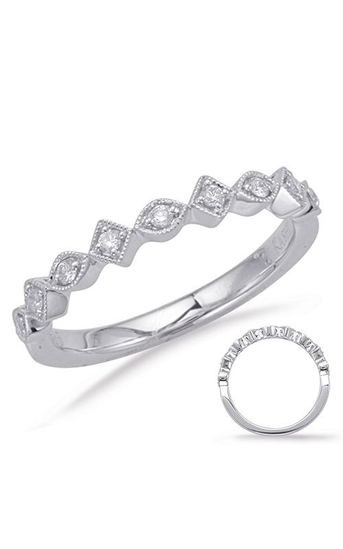 Deutsch & Deutsch Bridal Stackables Wedding band EN8057-BWG product image