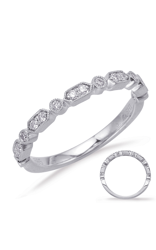 S Kashi & Sons Stackables Wedding band EN8058-BWG product image