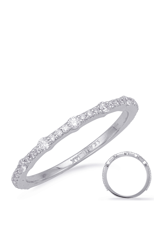 S Kashi & Sons Stackables Wedding band EN8084-BWG product image