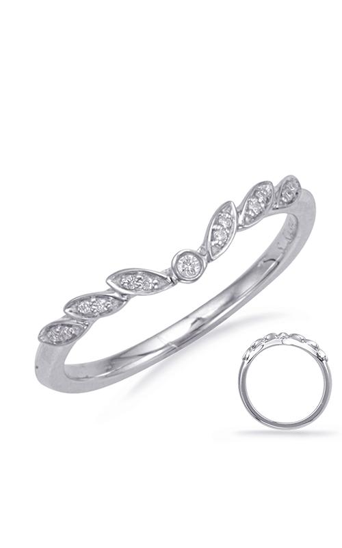 Deutsch & Deutsch Bridal Curved Wedding band EN8067-B7X5MWG product image