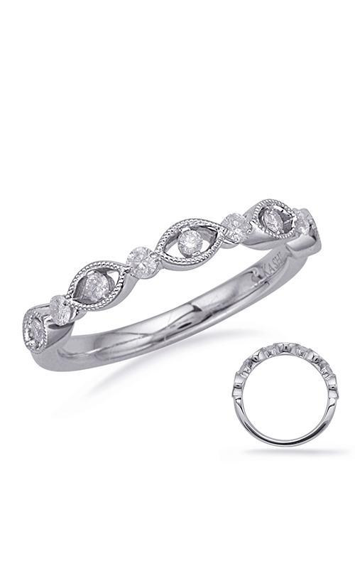 Deutsch & Deutsch Bridal Stackables Wedding band EN8133-BWG product image