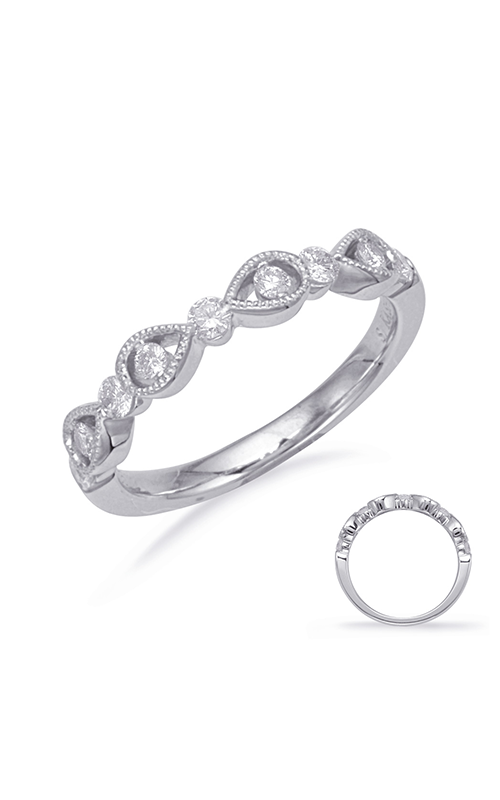 S Kashi & Sons Stackables Wedding band EN8132-BWG product image