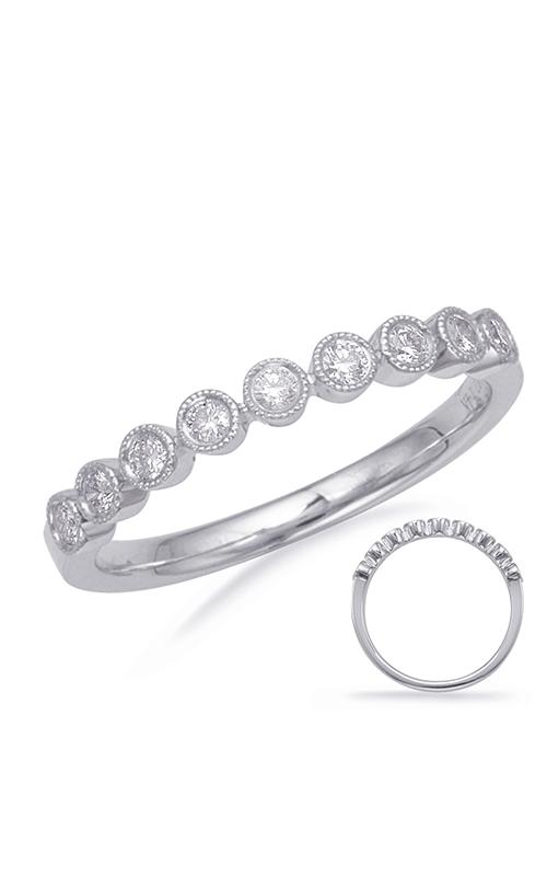 Deutsch & Deutsch Bridal Stackables Wedding band EN8138-BWG product image