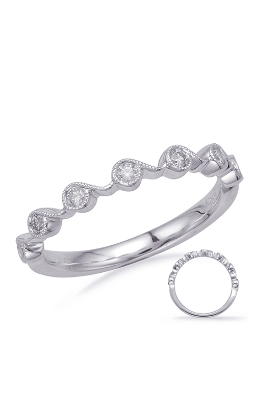 S Kashi & Sons Stackables Wedding band EN8146-BWG product image