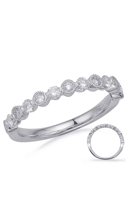 S Kashi & Sons Stackables Wedding band EN8147-BWG product image
