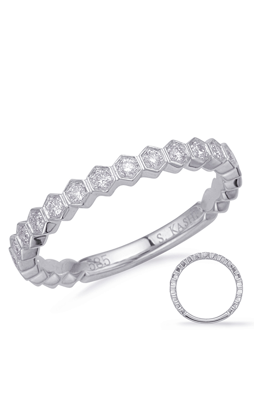 Deutsch & Deutsch Bridal Stackables Wedding band EN8149-BWG product image