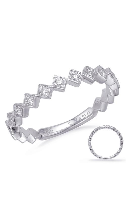 S Kashi & Sons Stackables Wedding band EN8150-BWG product image