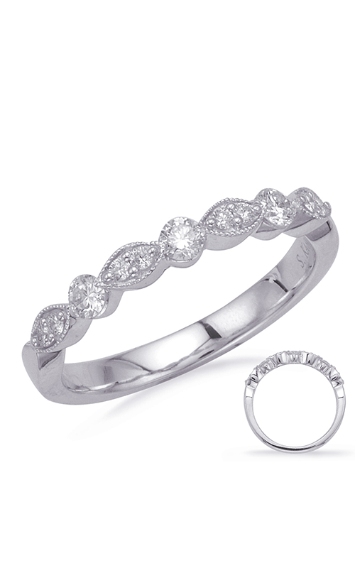 Deutsch & Deutsch Bridal Stackables Wedding band EN8151-BWG product image