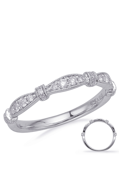 S Kashi & Sons Stackables Wedding band EN8152-BWG product image