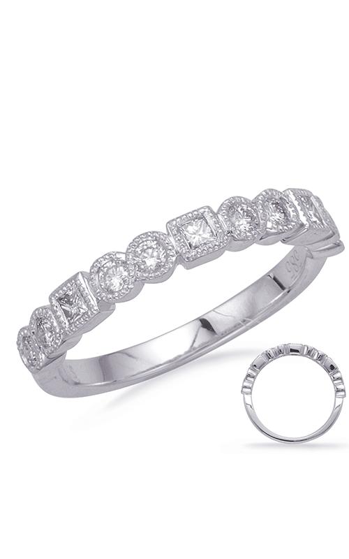Deutsch & Deutsch Bridal Stackables Wedding band EN8153-BWG product image