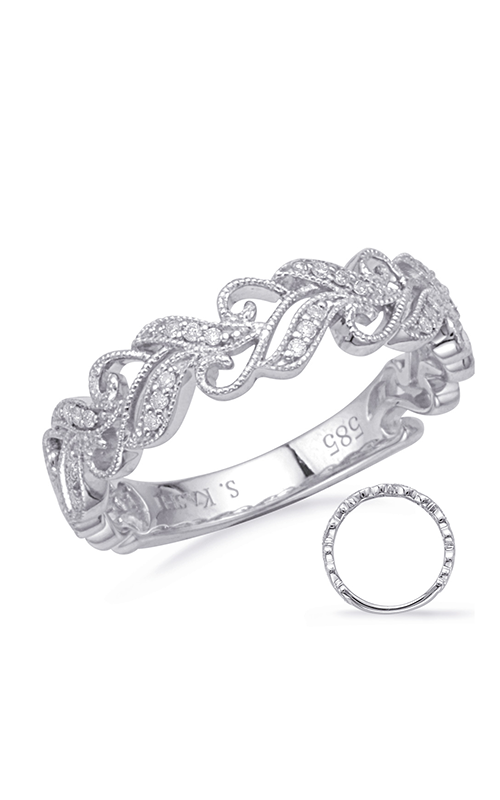 S Kashi & Sons Vintage Wedding band EN8172-B10WG product image