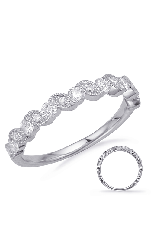 S Kashi & Sons Stackables Wedding band EN8176-BWG product image