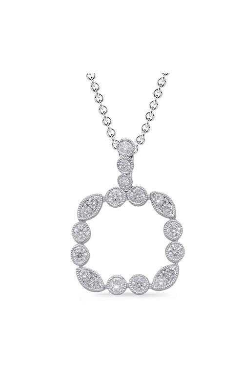 S Kashi & Sons Fashion Diamond Necklace P3307WG product image