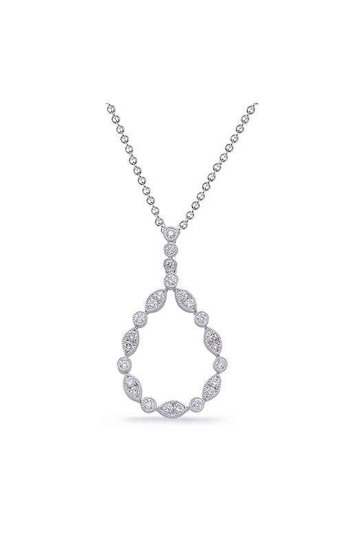 S Kashi & Sons Fashion Diamond Necklace P3310WG product image