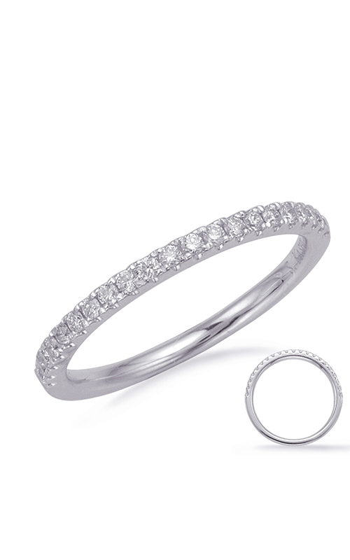 S Kashi & Sons Prong Set Wedding band EN7990-B6X4MWG product image