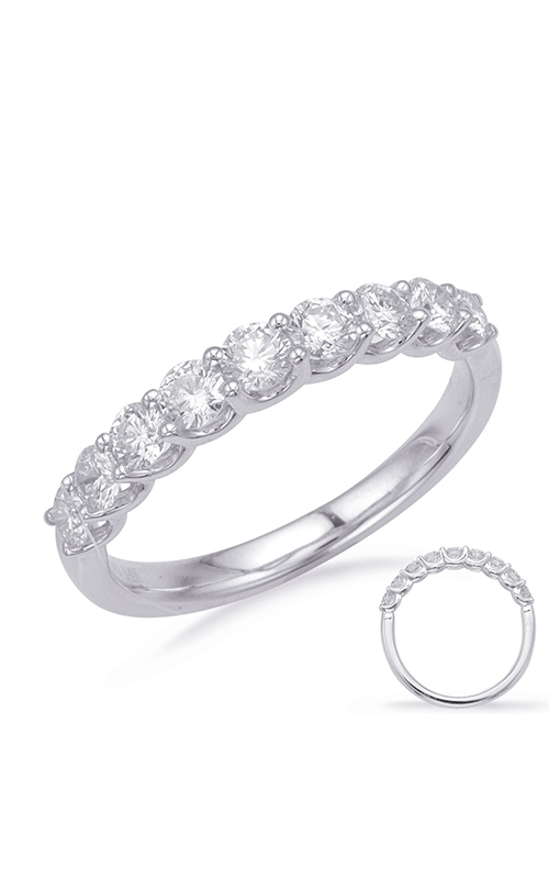 Deutsch & Deutsch Bridal Prong Set Wedding band EN8188-B10WG product image