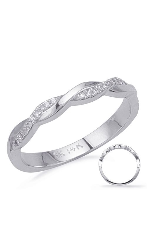 S Kashi & Sons Bypass Wedding band EN8091-BWG product image