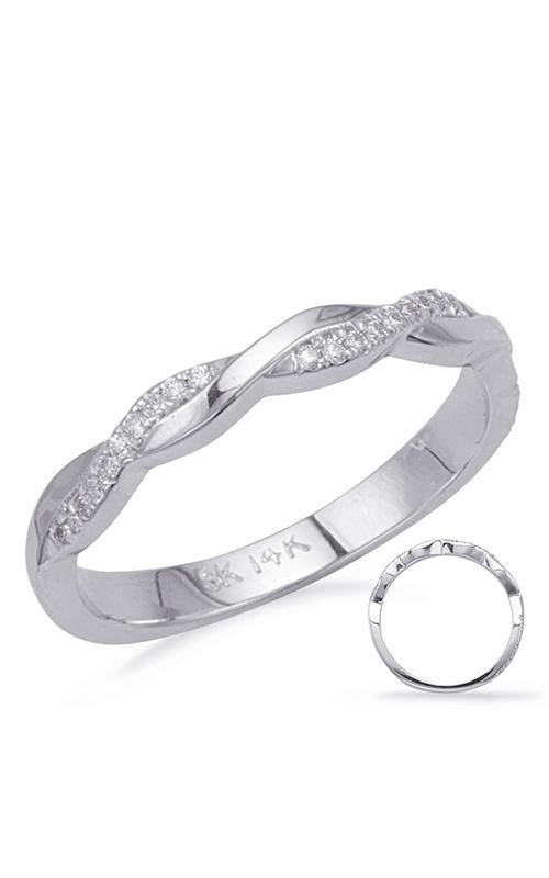 Deutsch & Deutsch Bridal BYPASS Wedding band EN8091-BWG product image