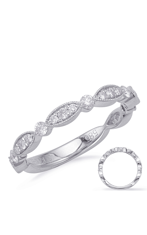 S Kashi & Sons Vintage Wedding band EN8093-BWG product image