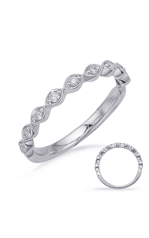 Deutsch & Deutsch Bridal Stackables Wedding band EN8226-B6X4MWG product image