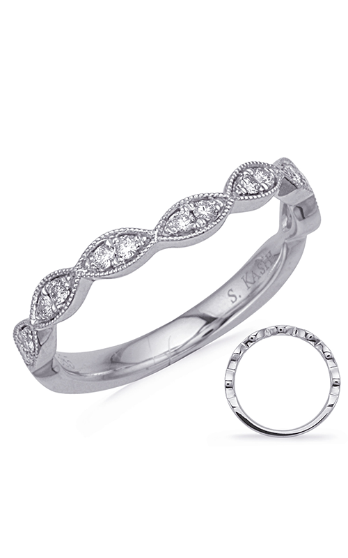 S Kashi & Sons Stackables Wedding band EN7897-BCWG product image