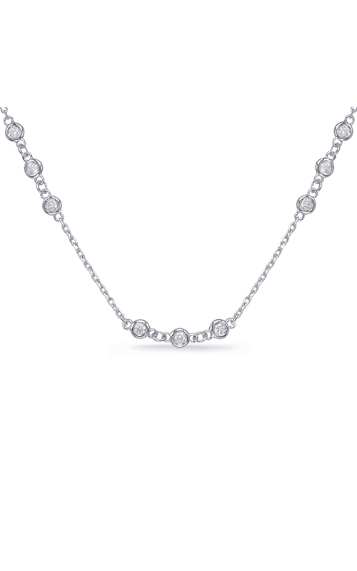 OPJ Signature Diamond Necklace N1070-2.0MWG product image