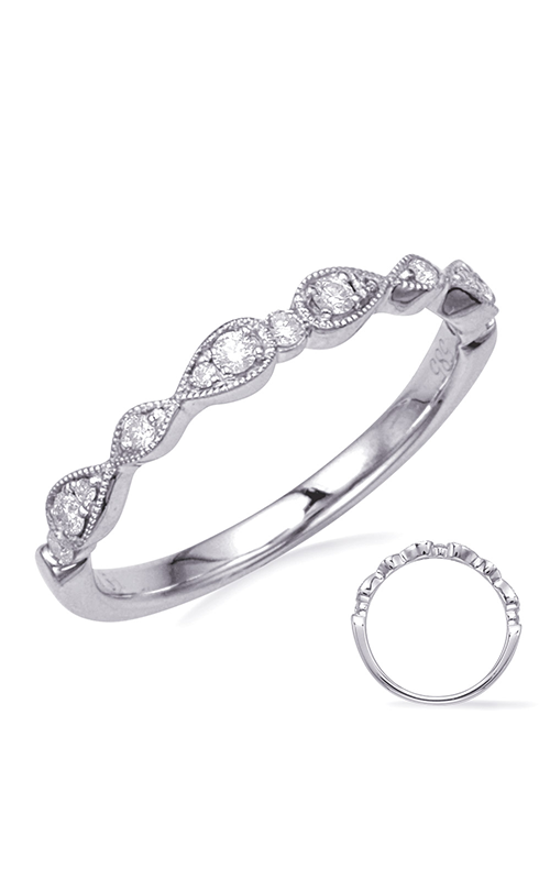 Deutsch & Deutsch Bridal Stackables Wedding band EN8254-BWG product image