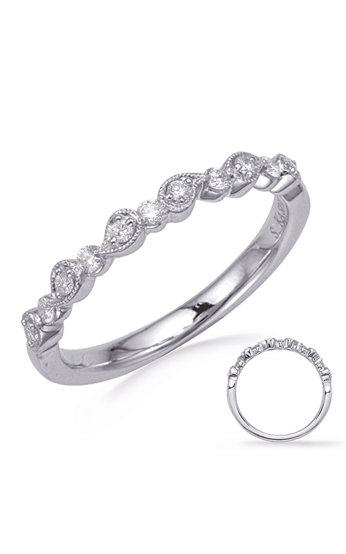 S Kashi & Sons Stackables Wedding band EN8256-BWG product image