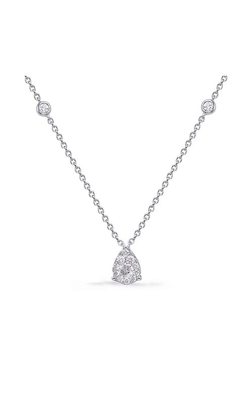 OPJ Signature Diamond Necklace N1231WG product image
