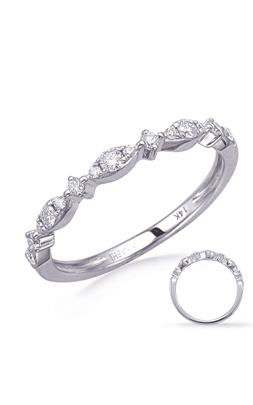 Deutsch & Deutsch Bridal Stackables Wedding band EN8280-BWG product image