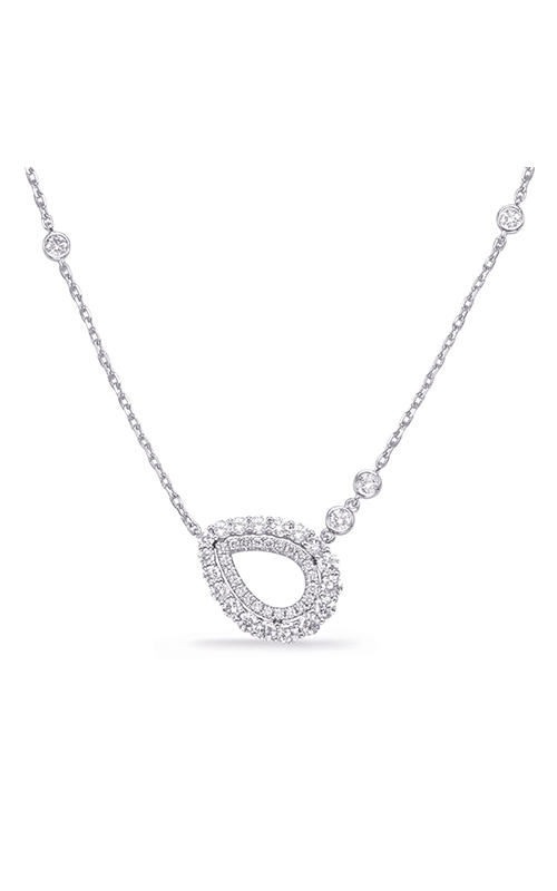 OPJ Signature Pear Shape Necklace N1242WG product image