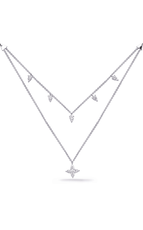 S Kashi & Sons Diamond Necklace N1248WG product image