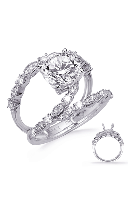 Deutsch & Deutsch Bridal Vintage Engagement ring EN8284-1WG product image