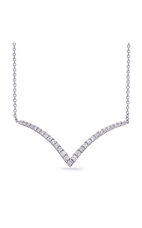 OPJ Signature Diamond Necklace N1252WG product image