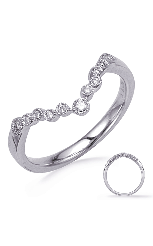 S. Kashi & Sons Curved Wedding Band EN8044-B7X5MWG product image