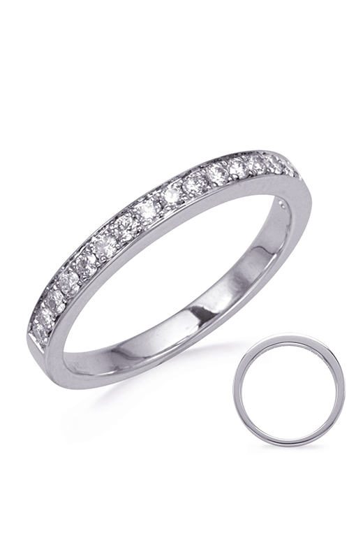 S Kashi & Sons Channel Wedding band EN8205-BWG product image