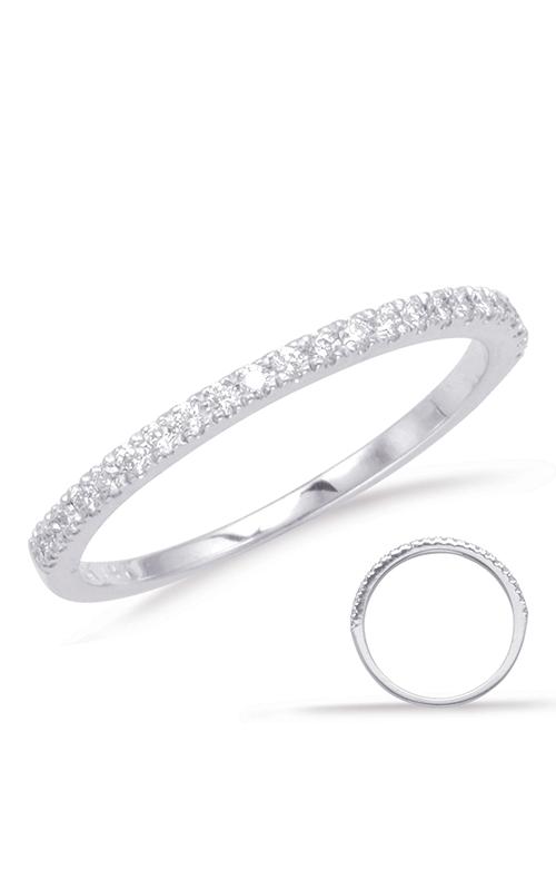 OPJ Signature Prong Set Wedding Band EN1705-BWG product image