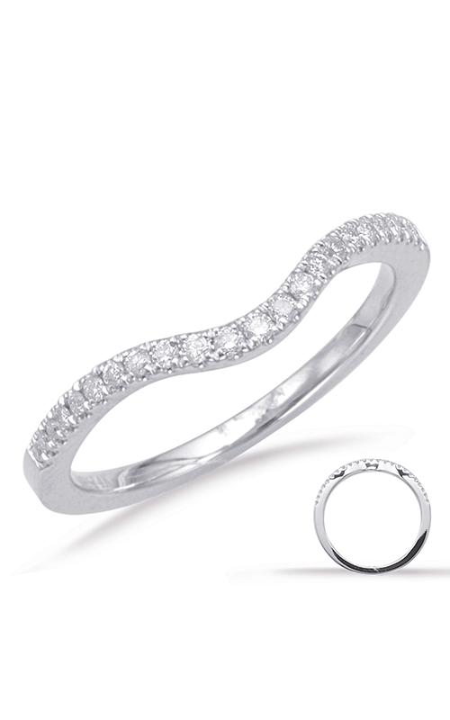 Deutsch & Deutsch Bridal Curved Wedding band EN7670-B10WG product image
