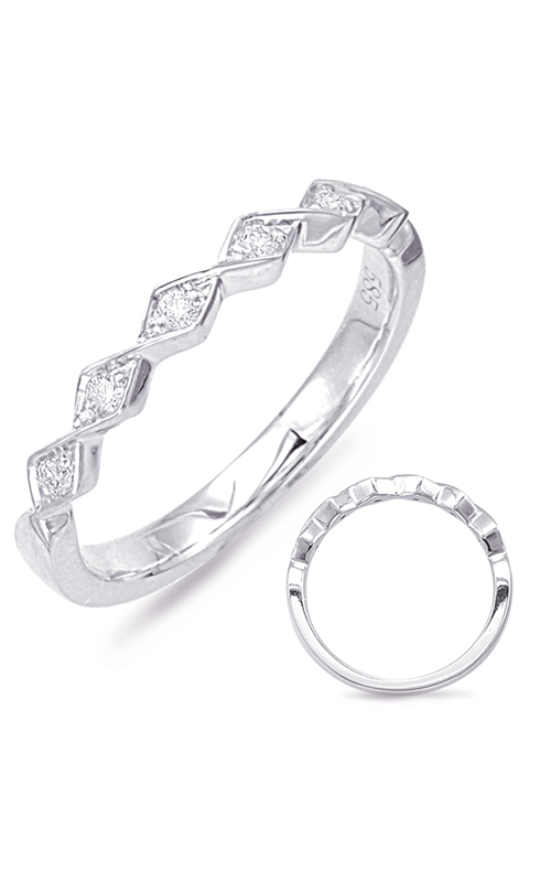 S Kashi & Sons Stackables Wedding band EN7835-BWG product image
