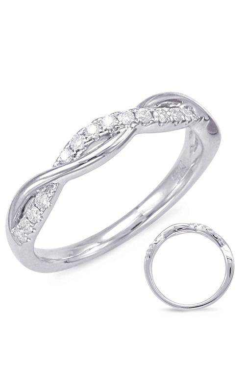 S Kashi & Sons Bypass Wedding band EN7831-B10WG product image