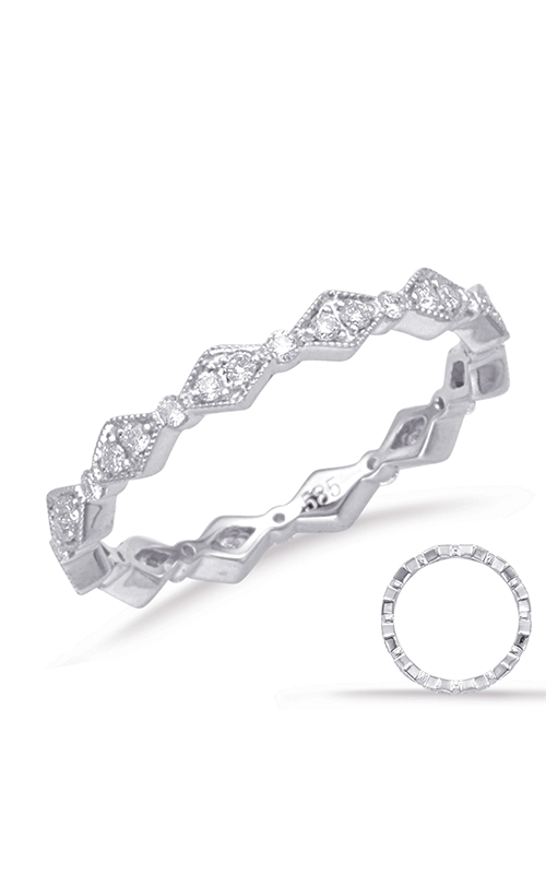 Deutsch & Deutsch Bridal Eternity Bands Wedding band D4652-6WG product image