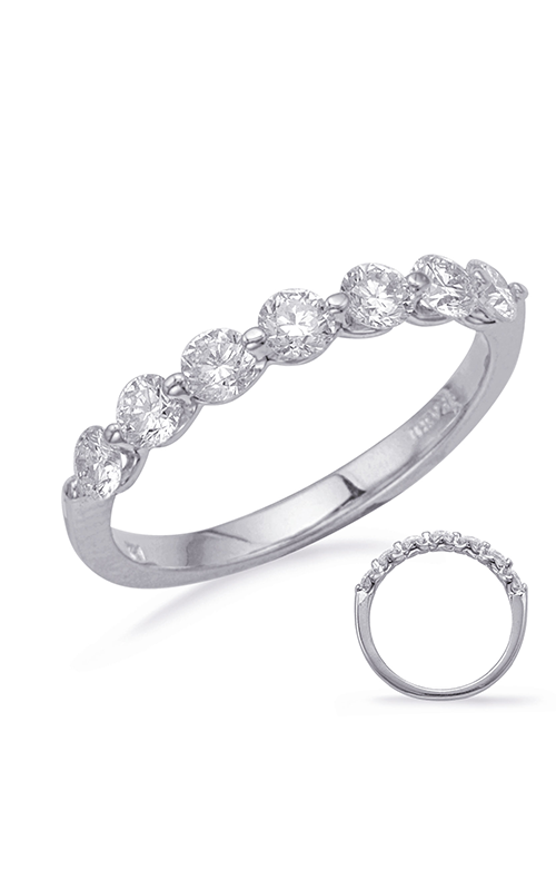 OPJ Signature Prong Set Wedding Band EN7760-BWG product image