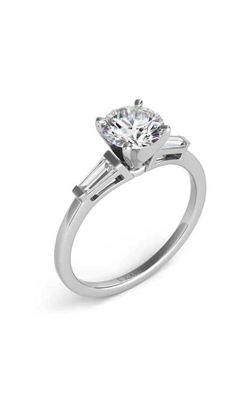Deutsch & Deutsch Bridal Baguette Engagement ring EN1509-4.0MWG product image