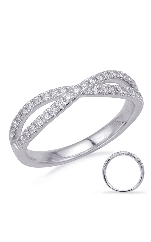 OPJ Signature Crossover Fashion Ring D4681WG product image
