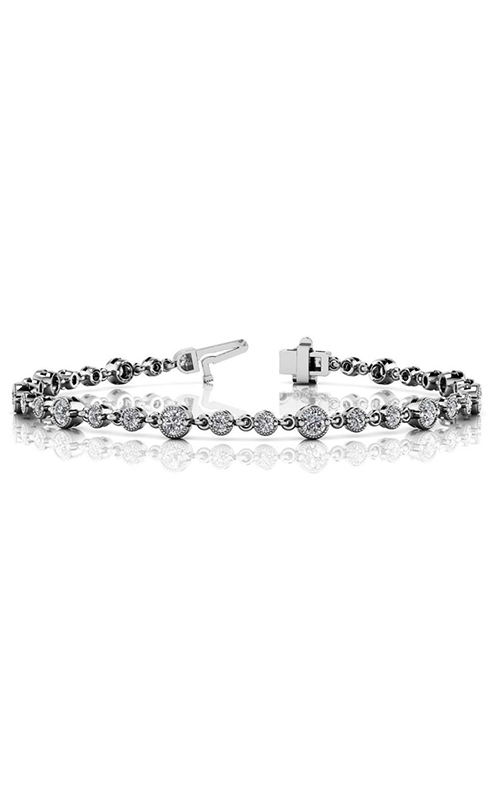 S Kashi & Sons Diamond Bracelet B4119WG product image