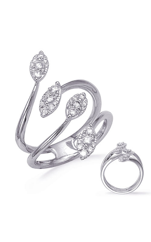 OPJ Signature Crossover Fashion Ring D4761WG product image