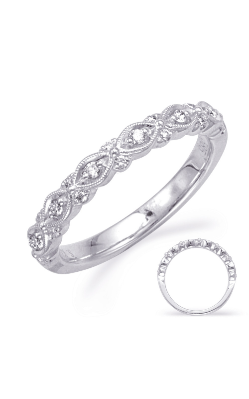 Deutsch & Deutsch Bridal Stackables Wedding band EN8342-B1WG product image